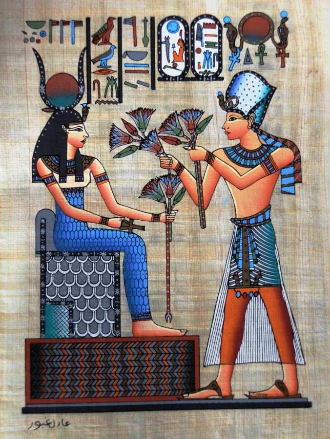 pintura-egipcia-oleo-spapiro-ramses-dando-flor-lotus-a-isis_MLB-F-223014337_9175